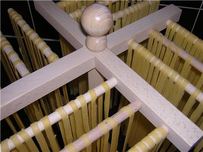 Making Pasta - Drying Process