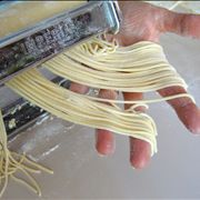 Making Process of Spaghetti